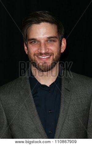 NEW YORK-DEC 8: Actors Evan Jonigkeit attends the premiere of