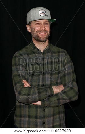 NEW YORK-DEC 8: John Glaser attends the premiere of