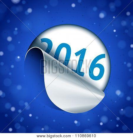 2016 unstuck round sticker