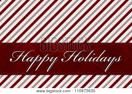 Happy Holidays Message