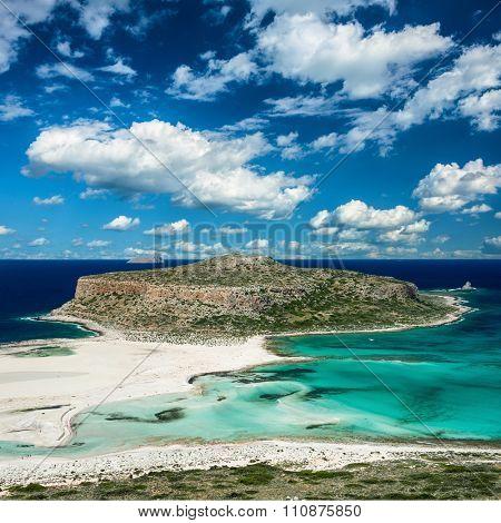 Ballos beach .Crete,Greece