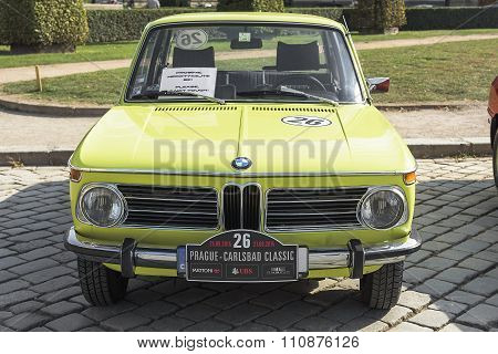 BMW retro car.