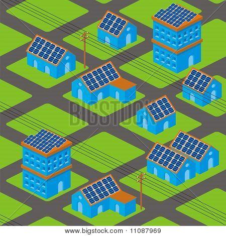 Solar Houses Pattern