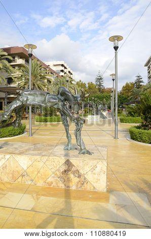 Dali Bronze Sculptures