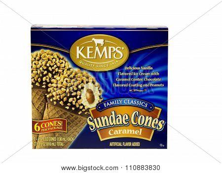 Caramel Sundae Cones