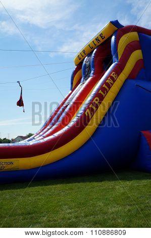 Zip Line at the Summerfest