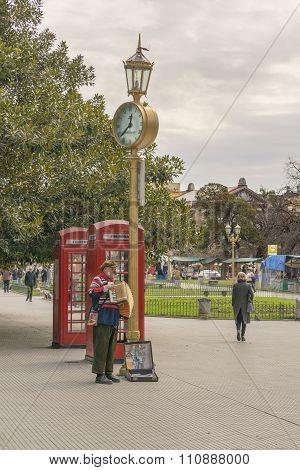 Recoleta Park In Buenos Aires Argentina