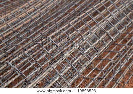 Steel Rod For Poles Construction