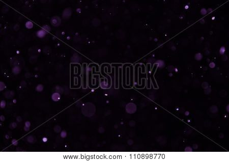 Purple Circles Background