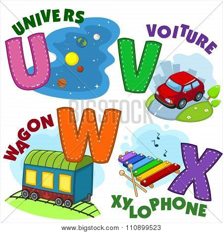 French alphabet part 6