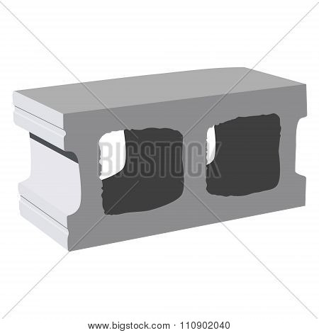 Cement Block Icon