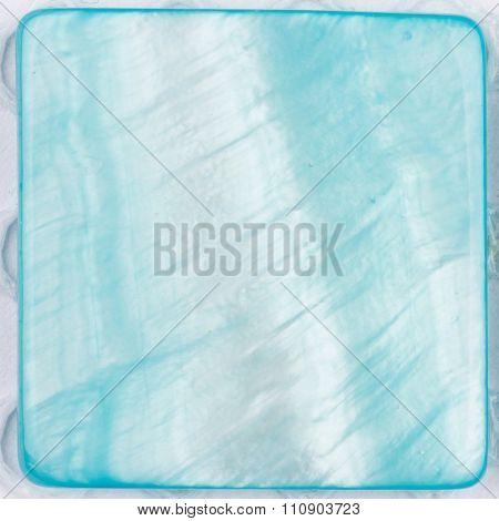 Beautiful Pearl Blue Plate