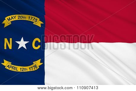 State Flag Of North Carolina