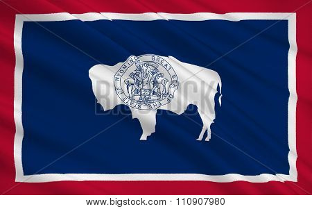 State Flag Of Wyoming