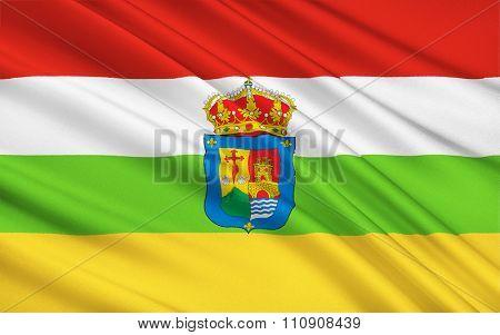 The Flag Of The Rioja Or La Rioja, Spain