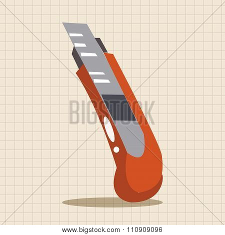 Utility Knife Theme Elements