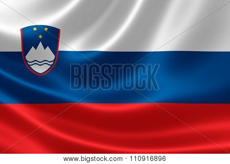 Republic Of Slovenia's National Flag