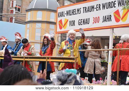 Fasching Carnival Parade Karlsruhe Germany