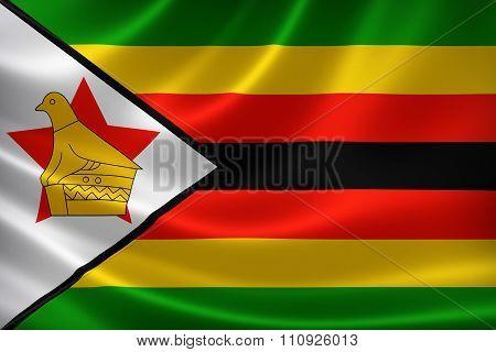 Republic Of Zimbabwe's National Flag