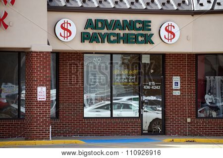 Advance Paycheck