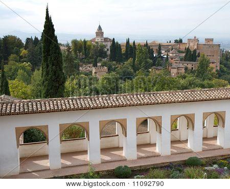 Garden Of The Alhambra
