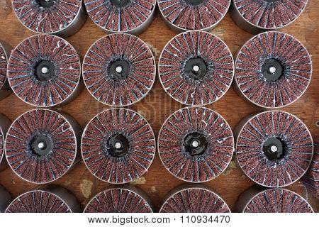 Sandpaper Wheel