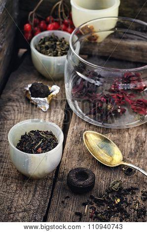 Varieties Of Tea
