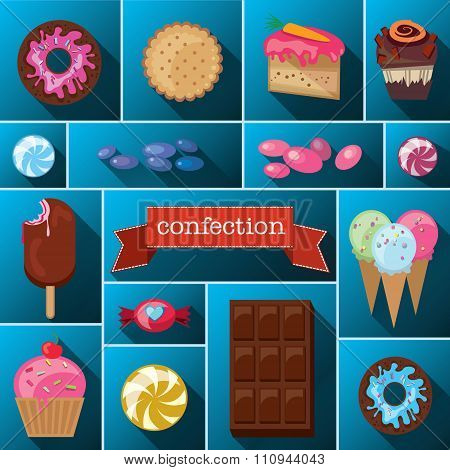 Beautiful Images Of A Variety Of Sweets.