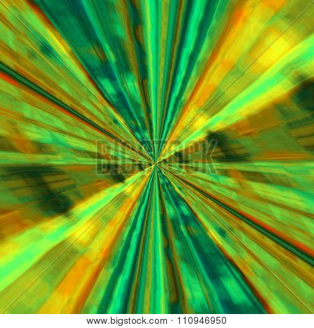 Abstract infinite background design. Copy space concept. Big bang explosion.