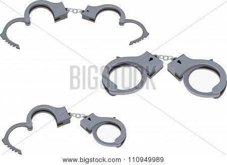 American open handcuffs