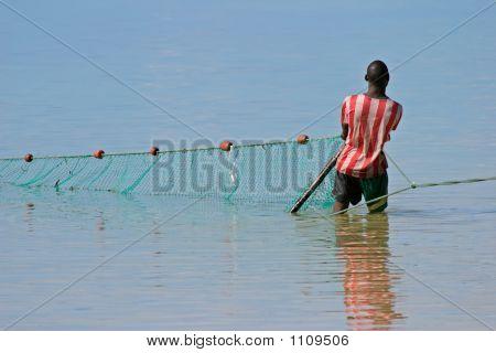 Mosambikanische Fisherman