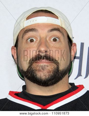 LOS ANGELES - DEC 4:  Kevin Smith at the he Shannara Chronicles at the iPic Theaters on December 4, 2015 in Los Angeles, CA