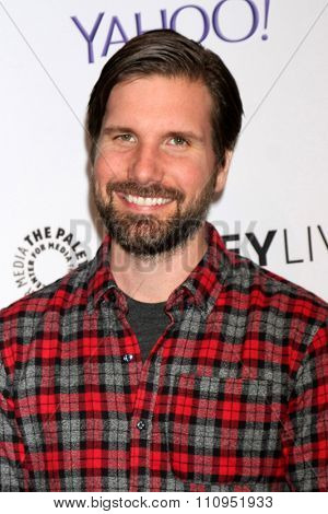 LOS ANGELES - DEC 8:  Jon Lajoie at the PaleyLive LA -  The League - A Fond Farwell at the Paley Center For Media on December 8, 2015 in Beverly Hills, CA