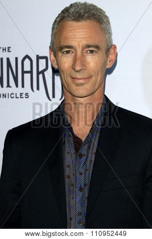 LOS ANGELES - DEC 4:  Jed Brophy at the he Shannara Chronicles at the iPic Theaters on December 4, 2015 in Los Angeles, CA