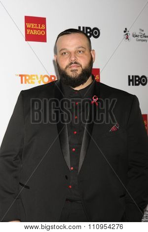 LOS ANGELES - DEC 6:  Daniel Franzese at the TrevorLIVE Gala at the Hollywood Palladium on December 6, 2015 in Los Angeles, CA