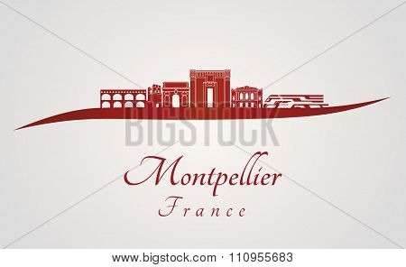 Montpellier In Red