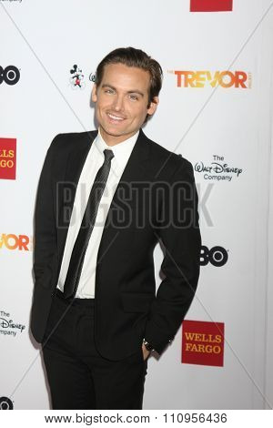LOS ANGELES - DEC 6:  Kevin Zegers at the TrevorLIVE Gala at the Hollywood Palladium on December 6, 2015 in Los Angeles, CA