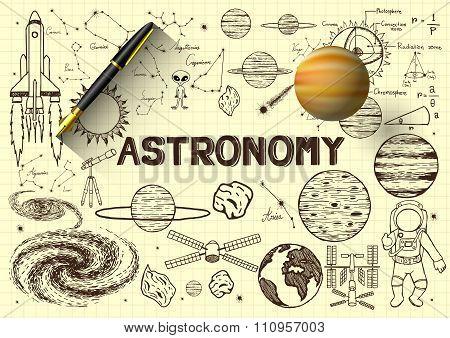 Astronomy Sketch