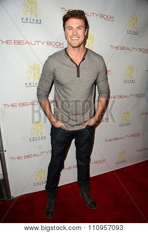 LOS ANGELES - DEC 3:  Blake Cooper Griffin at the The Beauty Book For Brain Cancer Edition Two Launch Party at the Le Jardin on December 3, 2015 in Los Angeles, CA