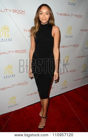 LOS ANGELES - DEC 3:  Ashley Madekwe at the The Beauty Book For Brain Cancer Edition Two Launch Party at the Le Jardin on December 3, 2015 in Los Angeles, CA