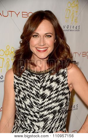 LOS ANGELES - DEC 3:  Nikki DeLoach at the The Beauty Book For Brain Cancer Edition Two Launch Party at the Le Jardin on December 3, 2015 in Los Angeles, CA