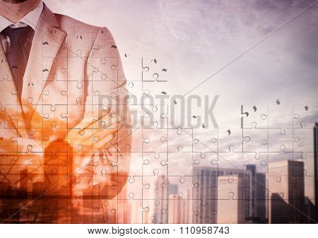 Vision of top businessman