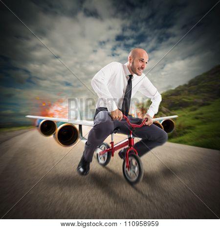 Aircraft bike