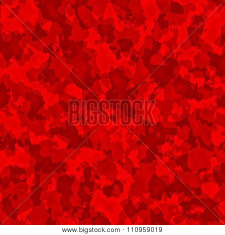 Abstract red fractal texture. Old paper texture. Dry patch of dirt. Modern computer art.