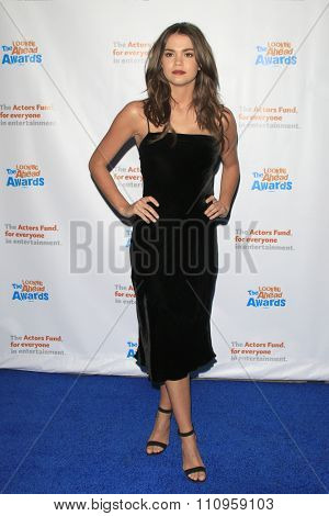 LOS ANGELES - DEC 3:  Maia Mitchell at the The Actors Fund�¢??s Looking Ahead Awards at the Taglyan Complex on December 3, 2015 in Los Angeles, CA