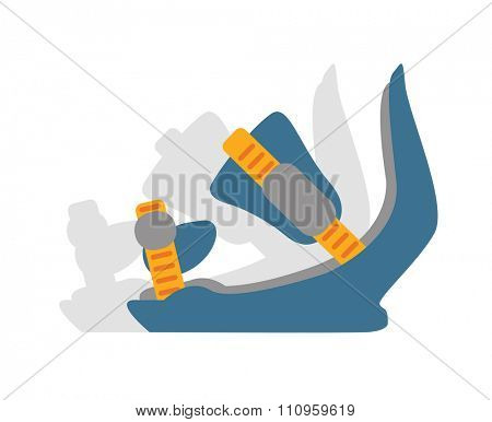Snowboard sport  anchors boots elements. Snowboarding anchors boots elements isolated on background. Snowboard vector anchors, snowboard boots, snowboard tools. Snowboard winter sport equipment. Snow