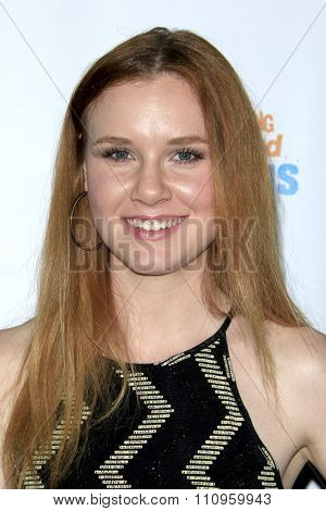 LOS ANGELES - DEC 3:  Madisen Beaty at the The Actors Fund�¢??s Looking Ahead Awards at the Taglyan Complex on December 3, 2015 in Los Angeles, CA