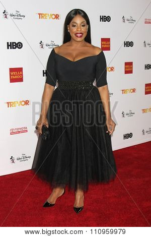LOS ANGELES - DEC 6:  Niecy Nash at the TrevorLIVE Gala at the Hollywood Palladium on December 6, 2015 in Los Angeles, CA