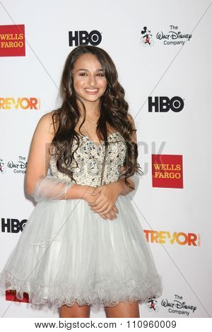 LOS ANGELES - DEC 6:  Jazz Jennings at the TrevorLIVE Gala at the Hollywood Palladium on December 6, 2015 in Los Angeles, CA
