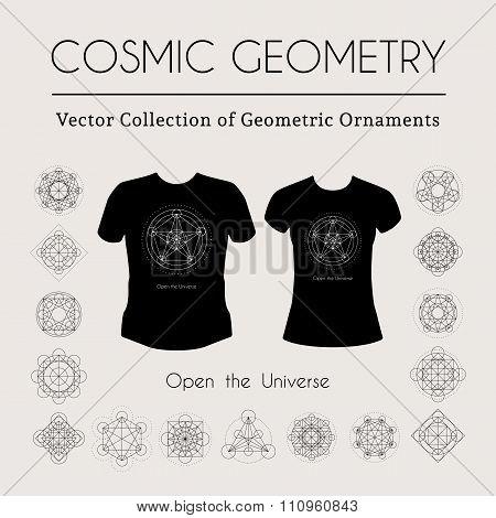Cosmic Geometry T-Shirt